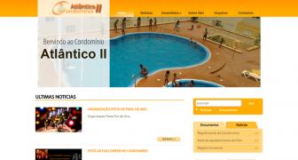 Website Condomínio Atlântico II